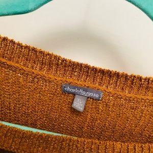 Charlotte Russe Sweaters - Mustard Charlotte Russe sweater size XL // U01